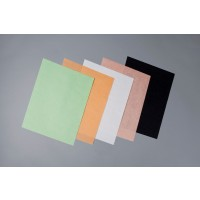 "Steak Paper Sheets, Black, 10 x 14"""