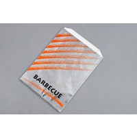 Foil Barbeque Bags, 6 x 2 x 8""