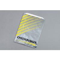 """Foil Cheeseburger Bags, 6 x 2 x 8"""""""