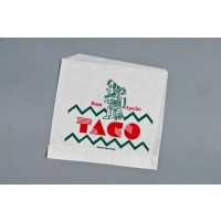 Double Opening Taco Bags, 7 1/8 x 6 1/2""