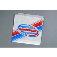 Double Opening Hamburger Bags, 7 x 6 1/2""