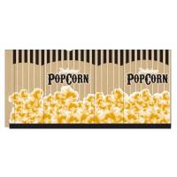 "Kraft Printed Popcorn Bags, 5 1/2 x 3 1/4 x 8 1/2"""