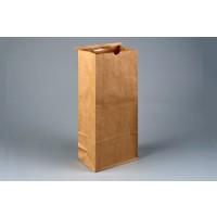 "Bakery Bags, Kraft, Plain Front, 6 1/2 x 4 x 16 1/8"""