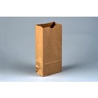 "Bakery Bags, Kraft, Plain Front, 4 1/4 x 2 1/2 x 9 3/4"""