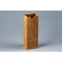 "Bakery Bags, Kraft, Plain Front, 3 3/8 x 2 1/2 x 9 3/8"""