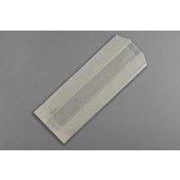 Gusseted Glassine Bags, 4 1/2 x 3 1/4 x 9 3/4""