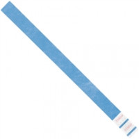 Blue Tyvek® Wristbands, 3/4 x 10""