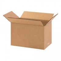 "Corrugated Boxes, 11 x 6 x 6"", Kraft"