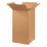 "Corrugated Boxes, 10 x 10 x 20"", Kraft"