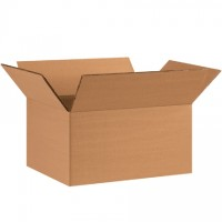"Double Wall Corrugated Boxes, 11 1/4 x 8 3/4 x 6"", 48 ECT"