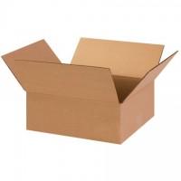 "Corrugated Boxes, 13 x 11 x 5"", Kraft, Flat"