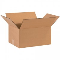 "Single Wall Corrugated Boxes, 16 x 12 x 8"", 44 ECT"