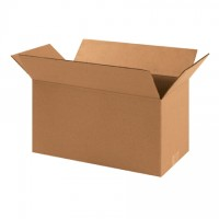 "Corrugated Boxes, 16 x 8 x 8"", Kraft"