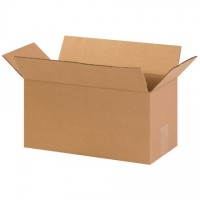"Corrugated Boxes, 14 x 7 x 7"", Kraft"