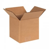 "Single Wall Corrugated Boxes, 6 x 6 x 6"", 44 ECT"