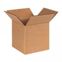 "Single Wall Corrugated Boxes, 6 x 6 x 6"", 44 ECT"