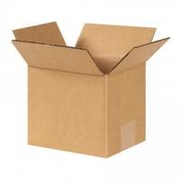 "Corrugated Boxes, 6 x 5 x 5"", Kraft"