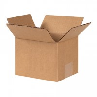 "Corrugated Boxes, 6 x 5 x 4"", Kraft"