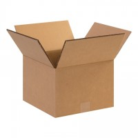"Double Wall Corrugated Boxes, 12 x 10 x 10"", 48 ECT"