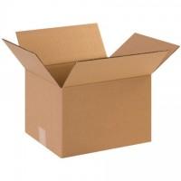 "Single Wall Corrugated Boxes, 12 x 10 x 8"", 44 ECT"