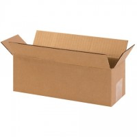 "Corrugated Boxes, 12 x 5 x 5"", Kraft"
