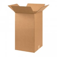 "Corrugated Boxes, 10 x 10 x 18"", Kraft"