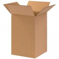 "Corrugated Boxes, 10 x 10 x 14"", Kraft"
