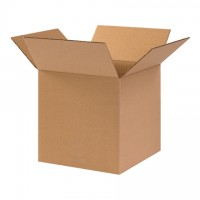 "Corrugated Boxes, 10 x 10 x 10"", Heavy Duty, Cube"