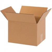 "Corrugated Boxes, 10 x 8 x 7"", Kraft"