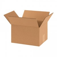 "Corrugated Boxes, 10 x 8 x 6"", Kraft"