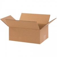 "Corrugated Boxes, 10 x 7 x 4"", Kraft"