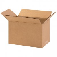 "Corrugated Boxes, 10 x 6 x 6"", Kraft"