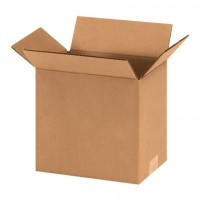"Corrugated Boxes, 9 x 6 x 9"", Kraft"