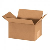 "Corrugated Boxes, 9 x 6 x 5"", Kraft"