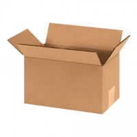 "Corrugated Boxes, 9 x 5 x 5"", Kraft"