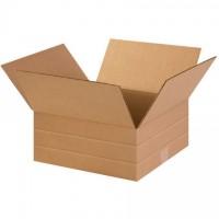 """Corrugated Boxes, Multi-Depth, 14 x 14 x 6"""""""
