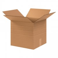 """Corrugated Boxes, Multi-Depth, 12 1/2 x 12 1/2 x 12"""""""