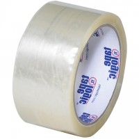 "Clear Carton Sealing Tape, Economy, 2"" x 55 yds., 1.9 Mil Thick"