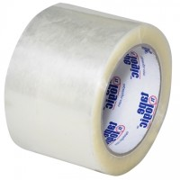 "Clear Carton Sealing Tape, Economy, 3"" x 110 yds., 1.6 Mil Thick"