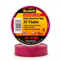 "3M 35 Electrical Tape, 3/4"" x 66', Violet"