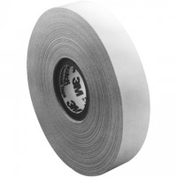 """3M 27 Glass Cloth Electrical Tape, 1"""" x 60', White"""