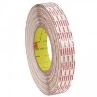 "3M 476XL Double Sided Extended Liner Film Tape - 1"" x 540 yds."
