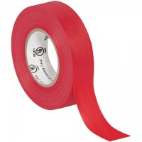 "Electrical Tape, 3/4"" x 20 yds., Red"