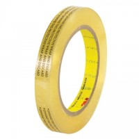 "3M 665 Double Sided Film Tape - 1/2"" x 72 yds."