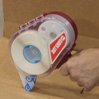 "Dot Shot® Stitch Pattern Glue Dots® - Low Profile, Super High Tack, 1/4"""