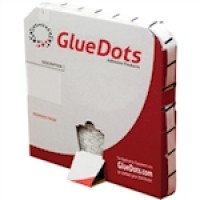 Glue Dots® - High Profile, High Tack, 1/2""