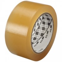 "3M 764 Clear Vinyl Tape, 1"" x 36 yds., 5 Mil Thick"