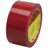 "3M 373 Tape, Red, 2"" x 55 yds., 2.5 Mil Thick"