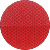3M 989 Red Reflective Labels, 3""