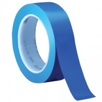 "3M 471 Blue Vinyl Tape, 1"" x 36 yds., 5.2 Mil Thick"